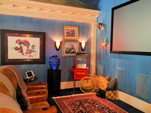 Home theaters and media centers are a popular entertainment choice in today's home.